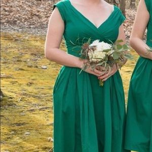 Green Emily and Fin Dress (ModCloth)